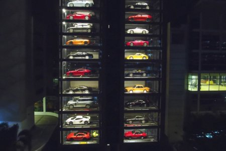 Oh, Look: A 15-Story Supercar Vending Machine
