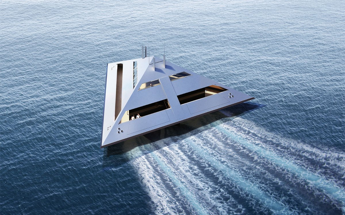 They Call It a Superyacht, But We're Pretty Sure It'll Take Us to Mars