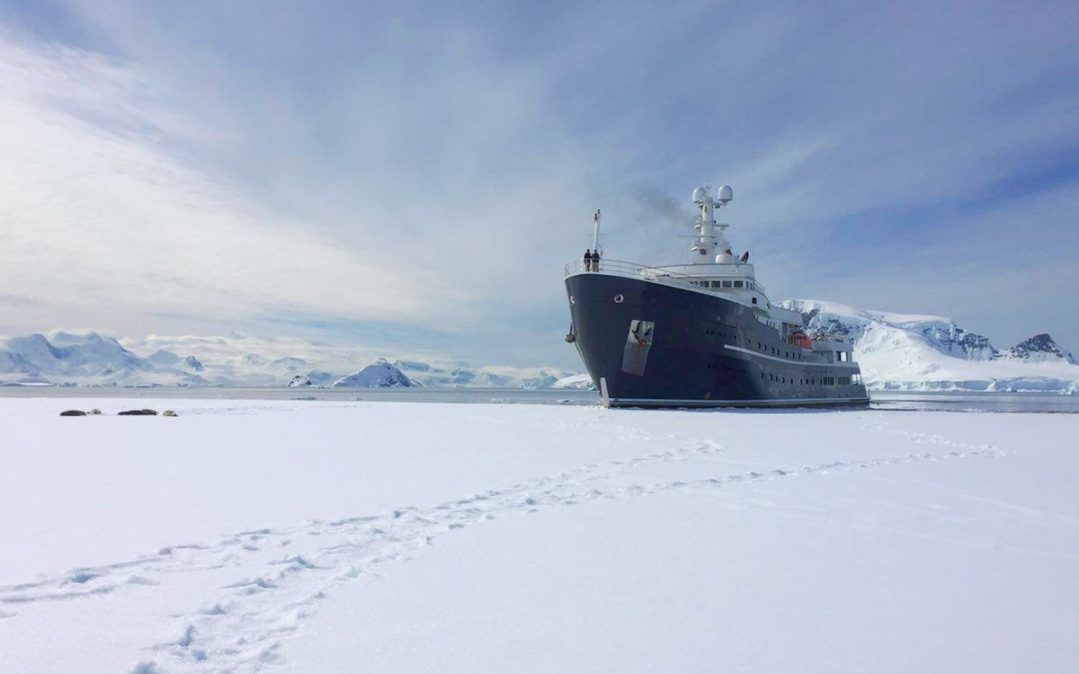 The First Icebreaking Superyacht Is Here, and That's Not Even the Coolest Feature