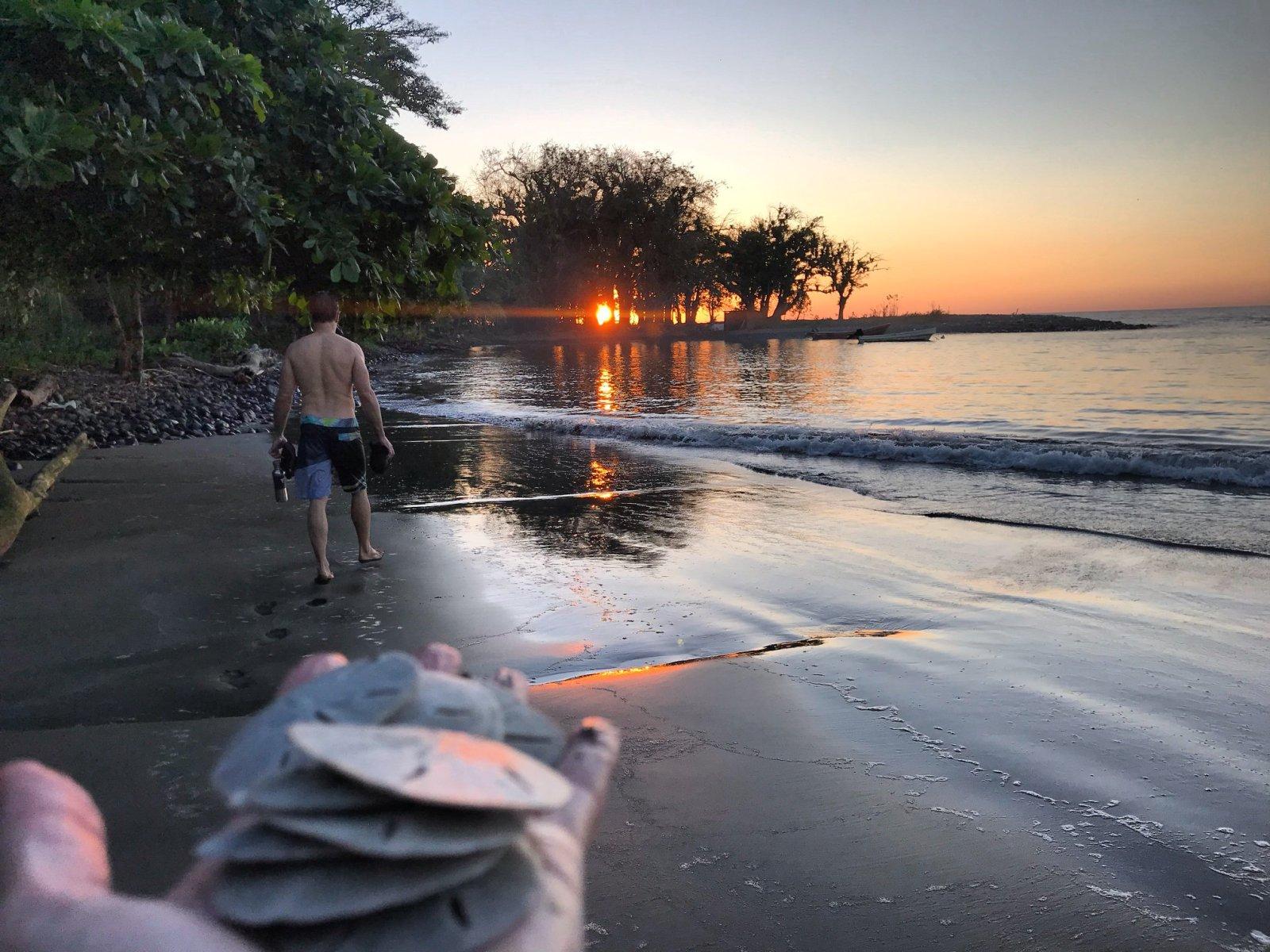 The Morro Negriot surf camp on Panama's Pacific coast. (Photo: Kinga Philipps)
