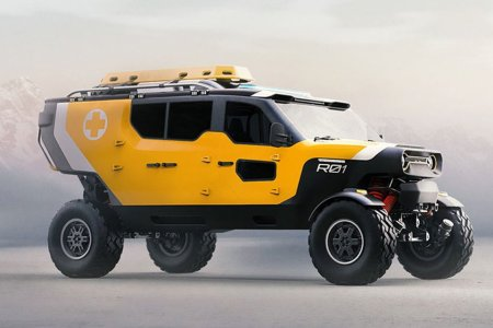 Polish Search-and-Rescue Concept Is Every Off-Roader's Dream