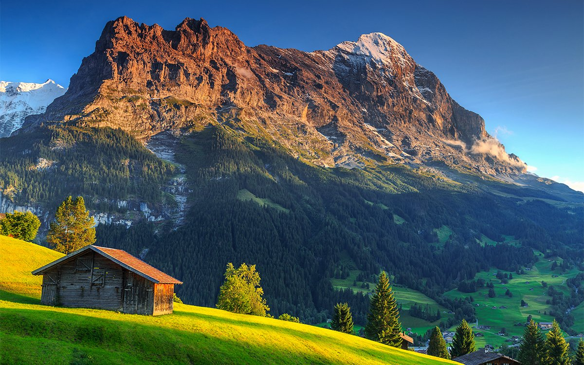 You Can Now Reserve Swiss Mountain Cabins Online