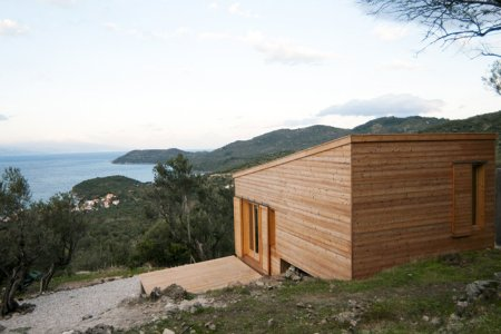 A Remote Greek Cabin That Accepts Bartering for Payment