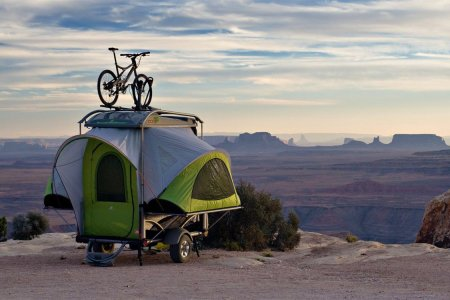 Stow, Tow, Camp. Is This Creation's Most Versatile Trailer?