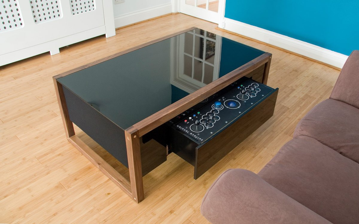 Why Isn't Your Coffee Table a Covert Video Game Console? - InsideHook