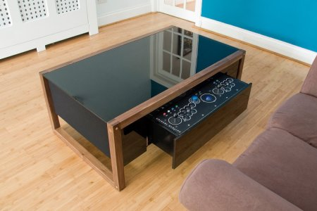 Why Isn't Your Coffee Table a Covert Video Game Console?