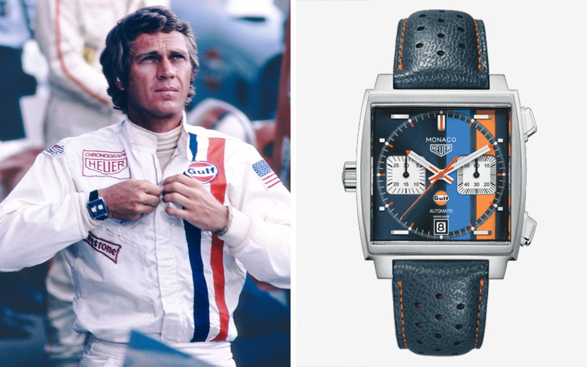 dfac3233482 Steve McQueen's Iconic 'Le Mans' Watch Is Getting a 50-Year Reissue