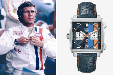 Steve McQueen's Iconic 'Le Mans' Watch Is Getting a 50-Year Reissue