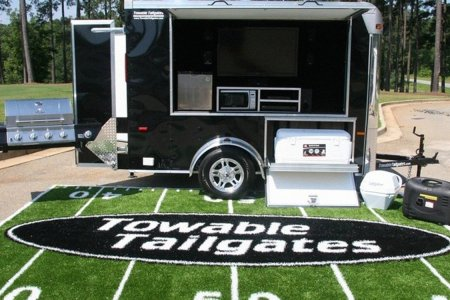 Towable Tailgate Exists Because Pregaming Has No Limits