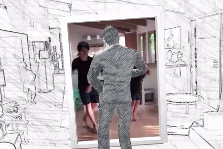 A New App Turns Your Living Room Into the 'Take on Me' Video