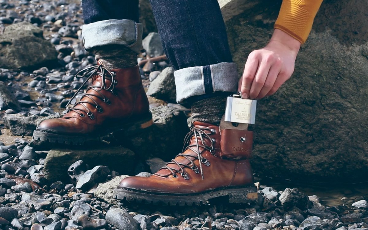 Oliver Sweeney and Talisker Boots has a Flask - InsideHook