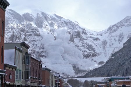 It's Not Every Day You Get to Watch an Avalanche from Main St.