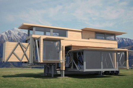 This Pop-Up House Concept Thinks It's Optimus Prime