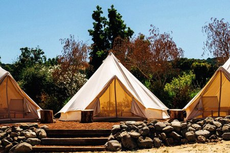 This Camp Comes With Bedouin Tents, a World-Class Menu