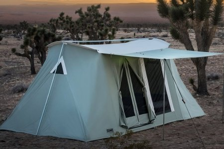 A Golden Era Car Camping Tent Is Back and Better Than Ever