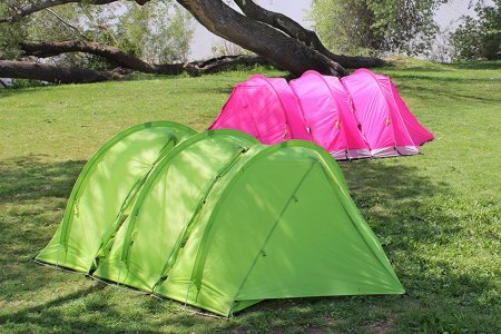 In Case You Wanted to Build an Endless Colony of Interlocking Tents …