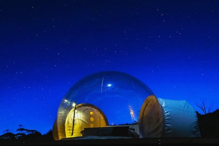 Australian Bubble Glampin' Needs Your Attention, Stat
