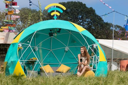 4G-Enabled Smart Tent Takes the Camping Out of Camping