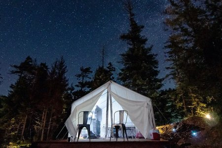 This Tent Comes With a View of the Pacific