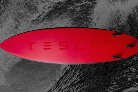 Tesla Made a Carbon-Fiber Surfboard for No Apparent Reason, and They're Already Sold Out