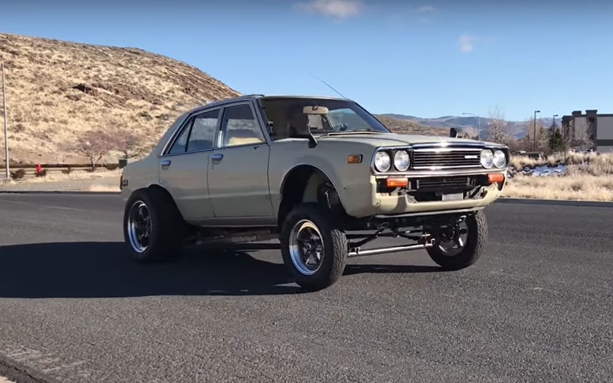 In Which a 1981 Honda Accord Gets a Tesla Engine Makeover