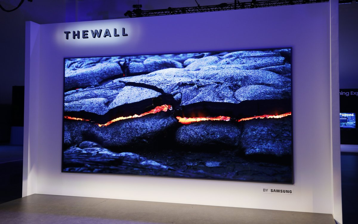 Samsung Wants to Sell You a 12-Foot TV Called 'The Wall'