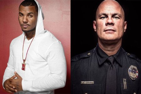 """The Game and His Son Just Raised $65k for a """"Good Cop"""" in Arkansas"""