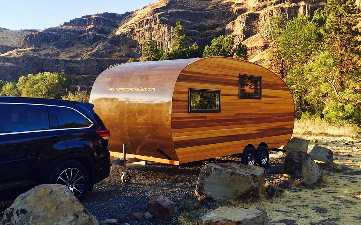 The Timberline Trailer Is Basically a Sexy Lumberjack Airstream