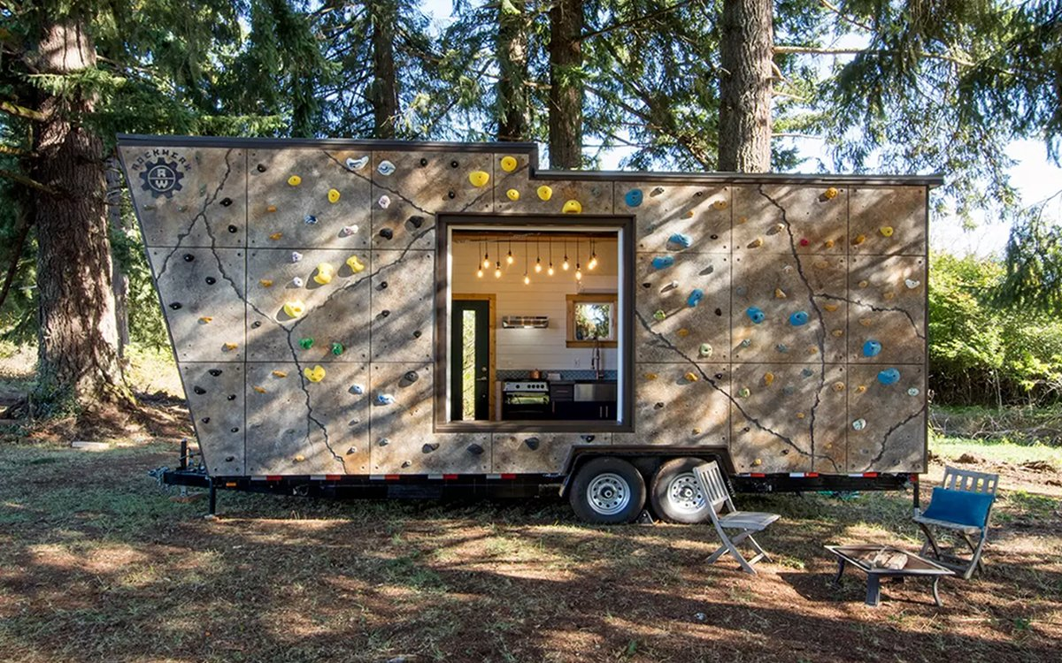 You Never Thought a Tiny Home Could Help You Burn Calories, Did You?