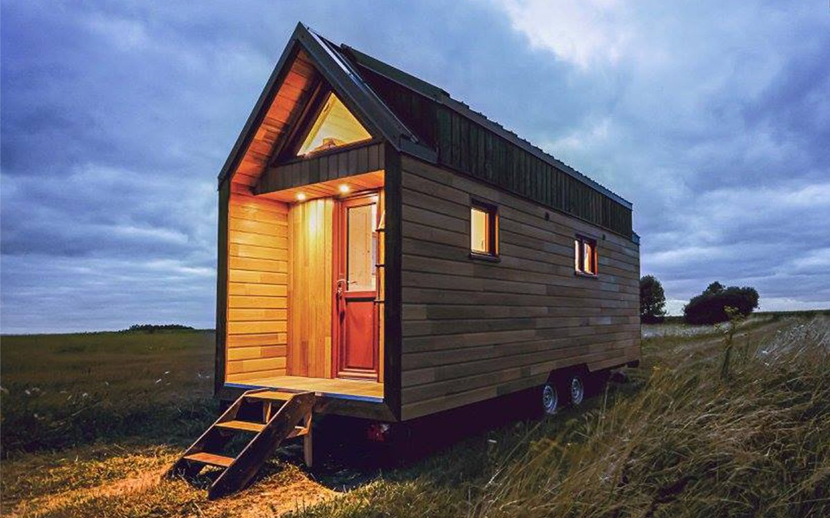 This Ingenious (and Affordable) Tiny Home Sleeps Three