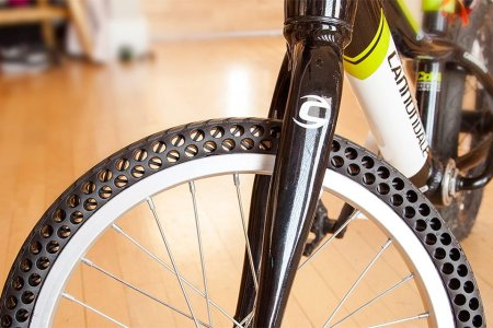 And on the Seventh Day, He Created Puncture-Proof Bicycle Tires