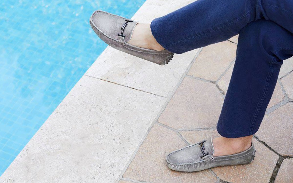 352ae4e75f8 A Gentleman Is Better Off Customizing His Own Driving Loafer
