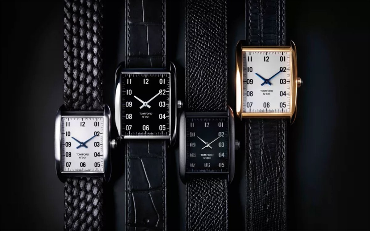 Tom Ford's First Watch Collection Looks Like an Instant Classic