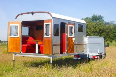 This Camper Has Stilts for When the Floods Come