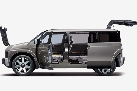 No Cargo Is Too Unwieldy for This Shapeshifting Van