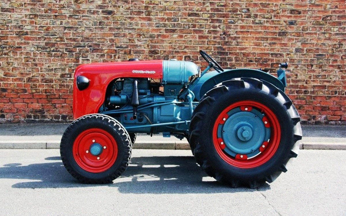1955 Lamborghini DL25 Tractor For Sale , InsideHook