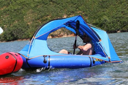 This Raft Tent Is a Great Accomplishment