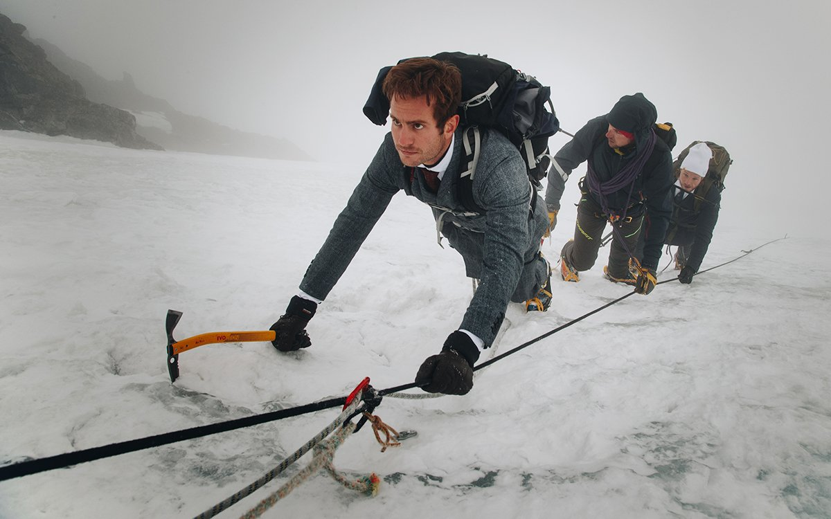 Leave It to an Italian to Make a Suit You Can Literally Climb Mountains In