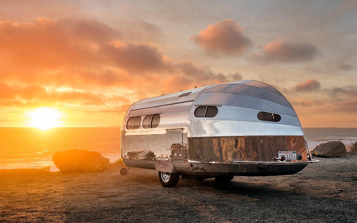 The Trailer That Inspired the Airstream Is Back, Better Than Ever