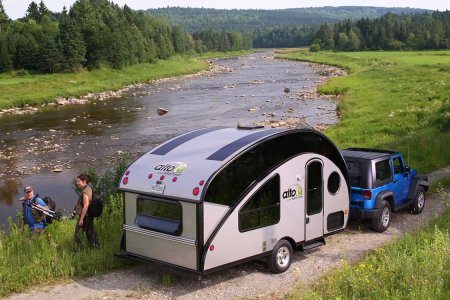 Pop-Up Trailer Expands So You Don't Smack Your Head on It Like Some Gangly Buffoon