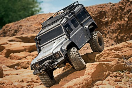 Pebbles and Twigs Are No Match for This Land Rover Defender