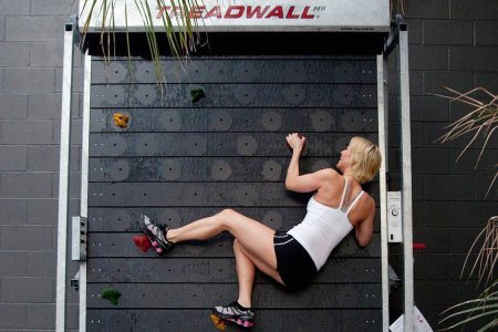 A Home Climbing Wall That Keeps On Going, and Going, and Going …