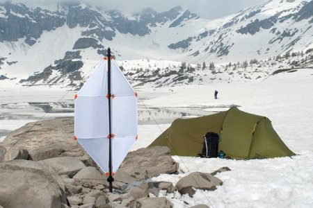 This Ingenious Micro Wind Turbine Will Power Your Gadgets in the Wild