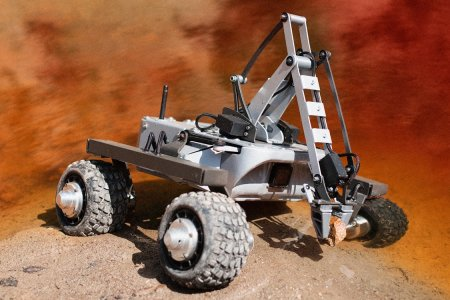 Turtle the Land Drone Is a Mini Mars Rover for Earthbound Use