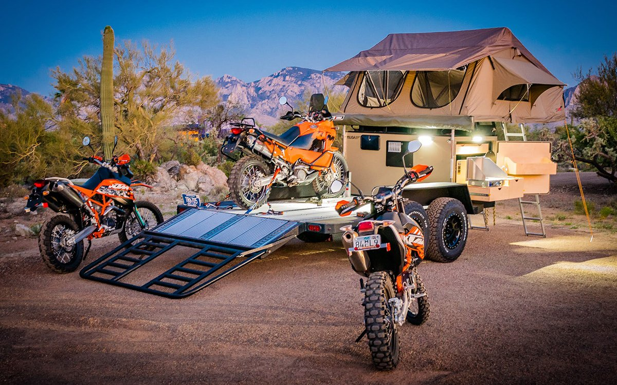 The Turtlebacker: Half Camper. Half Flatbed Truck. All Amazing.