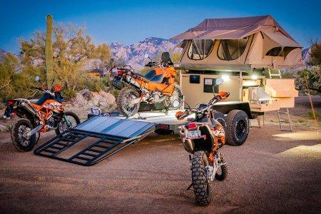 The Turtlebacker: Half Camper. Half Flatbed Truck. All Amazing.