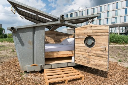 'Urban Camping in Amsterdam' Is Not, in Fact, a Euphemism for Pot