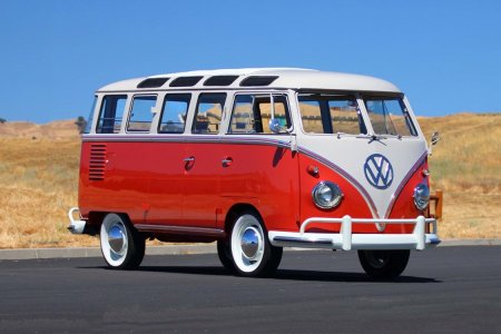The Things You Find in the Woods: A 23-Window 1959 VW Bus