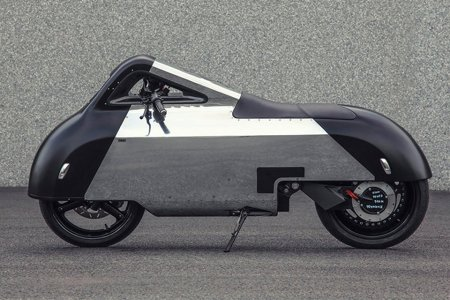This Scooter Looks Like It Just Rode In From the Future