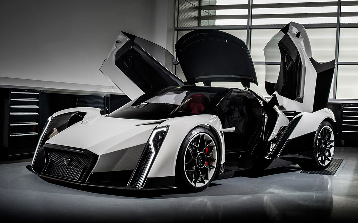 Singapore's Alleged 1,800-HP E-Car Will Head to Production After All